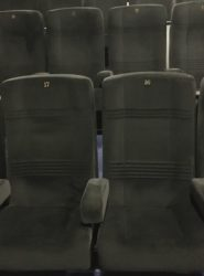 VIP Lounge SEAT 20 in schwarz
